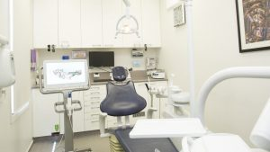 patient chair inside office