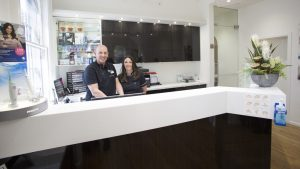 staff at top-rated dental clinic